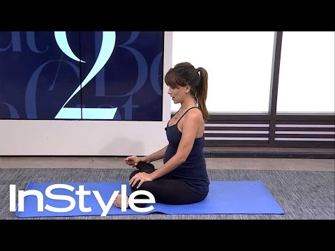 Pregnancy Yoga for Leg and Back Pain I InStyle