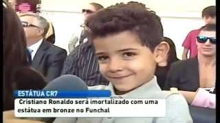 """Cristiano ronaldo junior: """"my father is the best in the world."""""""