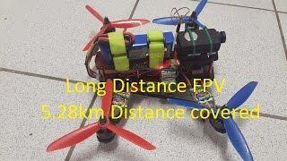 Long Range Quadcopter FPV ZMR 250 Mini Quad