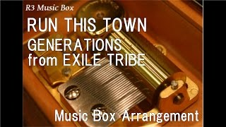 RUN THIS TOWN/GENERATIONS from EXILE TRIBE [Music Box]
