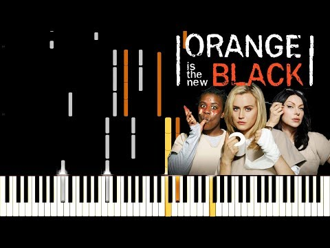 Orange Is The New Black Opening - Piano Synthesia Tutorial