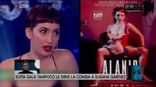 Sofía Gala tampoco le sirve la comida a Susana Giménez