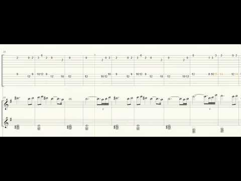 Guitar Tab - Piano - Fi's Lament - Zelda SS - Letter Notes - Play Along