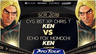 CYG BST XP Chris T (Ken) vs Echo Fox Momochi (Ken) - SCR 2018 Top 8 - CPT 2018