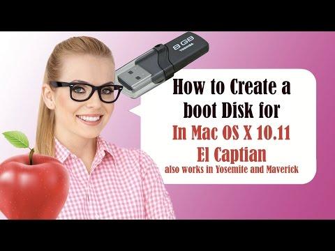 How To Make A Bootable Mac OS X El Capitán 10.11 Or Yosemite 10.10 USB Thumb Drive