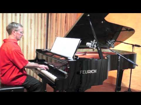 Anna Magdalena Bach Notebook (complete) P. Barton, FEURICH harmonic pedal piano