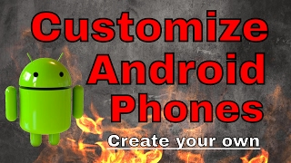 Customise your Android Smartphone | Make your own theme | Dm tutorials