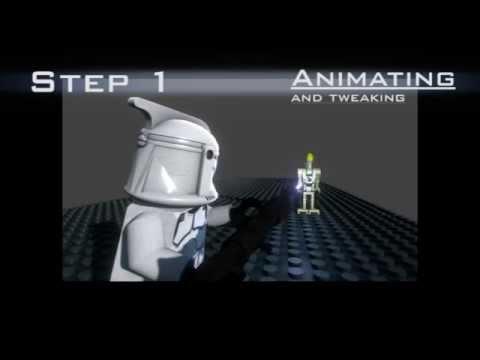 creating a cgi lego animation youtube
