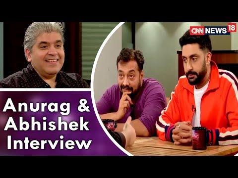 Rajeev Masand Interview with Anurag Kashyap & Abhishek Bachchan | CNN News18