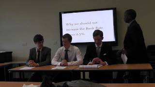 Bank of England Interest Rate Challenge - FLE (Simon Langton Boys) Entry