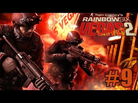 Co-op Прохождение Rainbow Six Vegas 2 [Часть 9] Сердце Лас-Вегаса