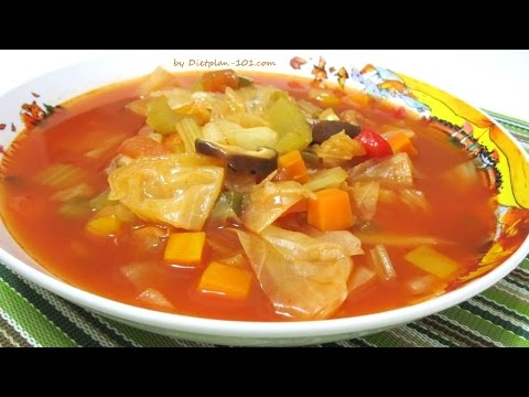 😀👍Perdre 7kg en 7jours ( soupe au choux ) super 👌 😉