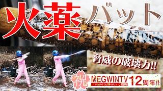 火薬500粒つけたバットならホームラン【祝12周年】 thumbnail