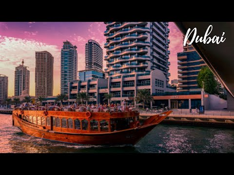 VLOG#02 Dhow Cruise Dinner At Dubai Creek #2021 | Ruxit Forever | Cruise Ride