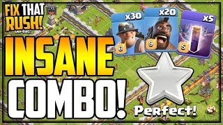 An Army SO CRAZY, It Just MIGHT WORK!  Fix That Rush #59 - Clash of Clans