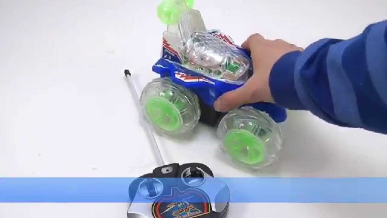 Carro De Juguete Loco Control Remoto Giros 360 Bateria Recargable