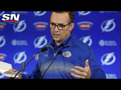 Steve Yzerman Steps Down As Tampa Bay Lightning GM - FULL Press Conference