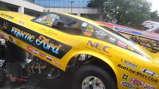 Frantic Ford Funny Car cackle 2017
