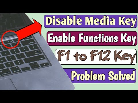 How To Enable Or Disable Action Keys On Window 10 | How To Enable Functions Keys | FN Key