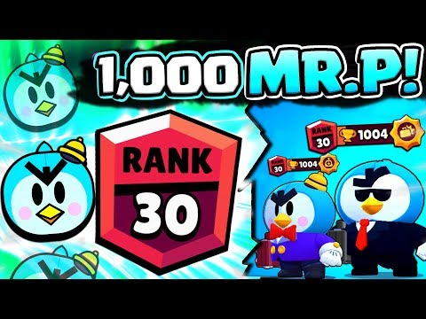 DOUBLE MR. P TEAM OP!! 1000 TROPHY PUSH! RANK 30 MR. P GAMEPLAY!