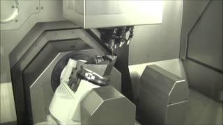 Высокоскоростной 5-осевой фрезерный обрабатывающий центр Exeron HSC MP7