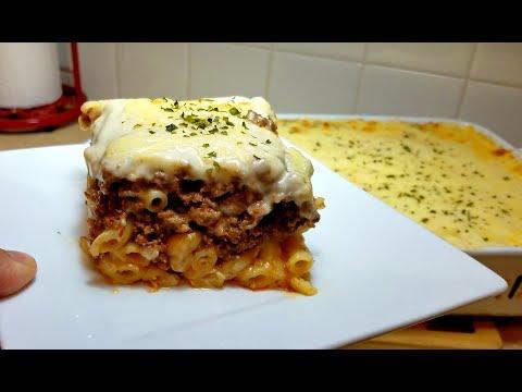 How to make Pastitsio (Greek Pasta Bake)