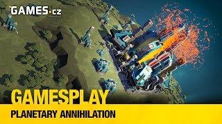 Čtenářský GamesPlay - Planetary Annihilation: Titans