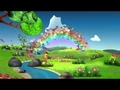 El jardin de clarilu opening apertura disney juniors la for Cancion el jardin de clarilu