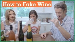 National Wine Day | Fake your way through wine | Day 23 | The Holderness Family