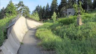LOST PLACES - Ehemalige DDR Rennrodelbahn Oberwiesenthal Fichtelberg Erzgebirge