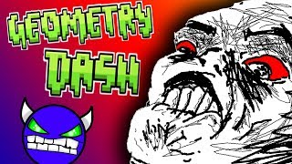 THIS GAME IN LITERALLY IMPOSSIBLE  - Geometry Dash