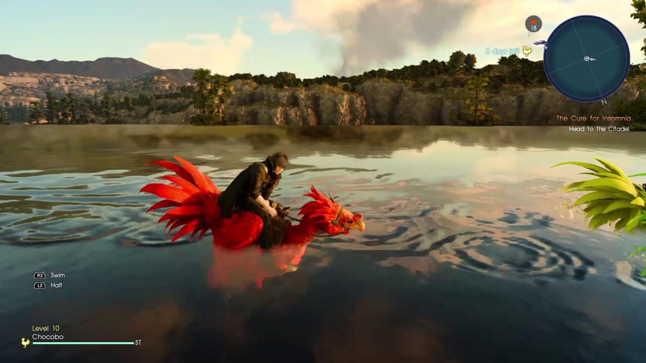 Final fantasy xv the vesperpool islet secret fishing for Final fantasy 15 fishing