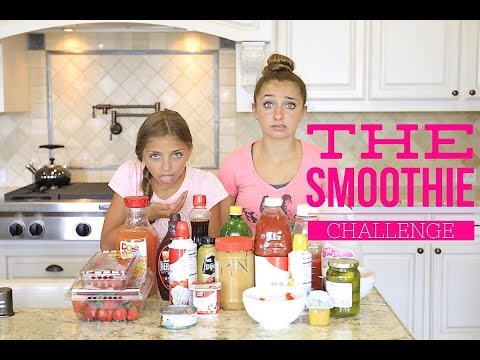 The Smoothie Challenge  Brooklyn and Bailey