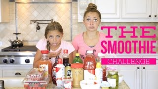 One of Brooklyn and Bailey's most viewed videos: The Smoothie Challenge | Brooklyn and Bailey