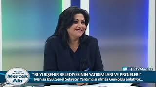 Mercek Altı Büyükşehir Belediyesinin Yatırımları ve Projeleri Genel Sekreter Yardımcısı Yılmaz Genço