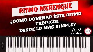Curso de Piano Música Cristiana Clase 18 - Ritmo Merengue - 2