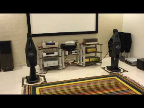 Lawrence Violin and Audiomat Solfere Reference 20