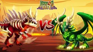 ✅ YGGDRASIL VUA THIÊN NHIÊN VS SÁT LONG CỔ ĐẠI - Dragon City Game Mobile Android, Ios
