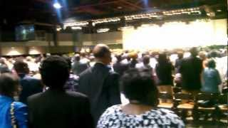 Dottie People Singing at the National Baptist Convention.