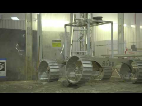 Future Lunar Mining Robot Gets Mobility Test | Video