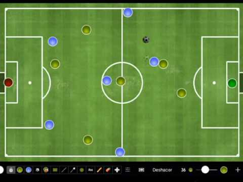 Football 7 | Ball output (2-3-1)