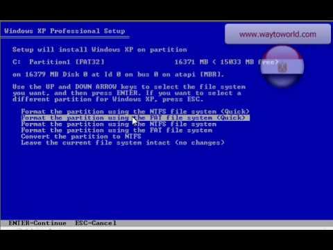 طريقه تنزيل نسخه ويندوز اكس بى على جهازك