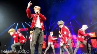 [FANCAM] 170324 Fire @ BTS The Wings Tour in Newark Day 2