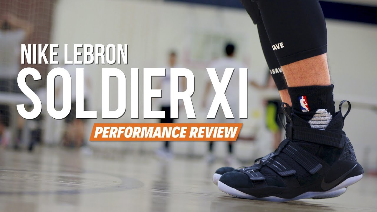 50c603778327 Nike LeBron Soldier 11 (XI) - Performance Review - YouTube