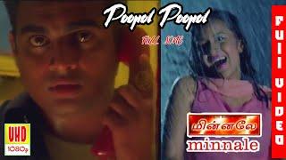 Cover images Poopol Poopol Song HD | Minnale Poopol Poopol | Minnale Songs |  Unreleased Tamil