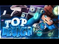 TOP 10 FUNNIEST Minecraft SKINS • TOP DESIGN of the Week #23 | BaumBlau