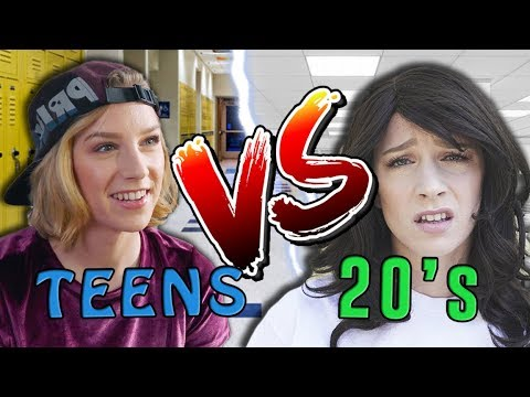 Teengers Talk to 20-Year-Old Guys & It's Damn Fun