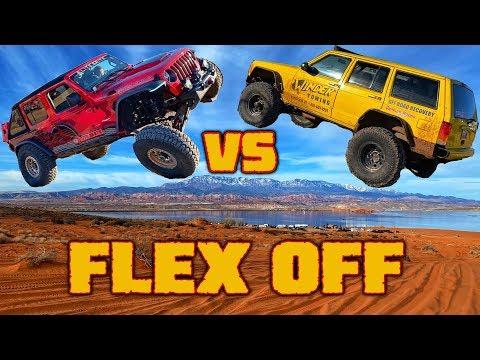 MATT'S OFF ROAD RECOVERY XJ vs OUR JEEP JL!