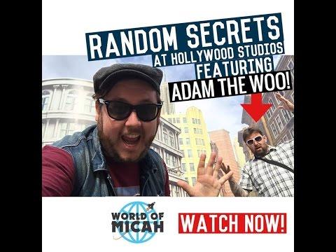 Random SECRETS of Disney&39;s Hollywood Studios Featuring: Adam the Woo - WOM 40