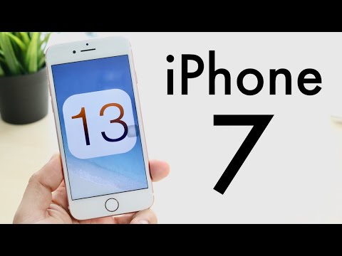 iOS 13 OFFICIAL On iPhone 7! (Review)